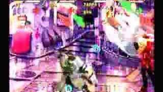 Guilty Gear Isuka :  Ky and Sol vs Zappa and Faust