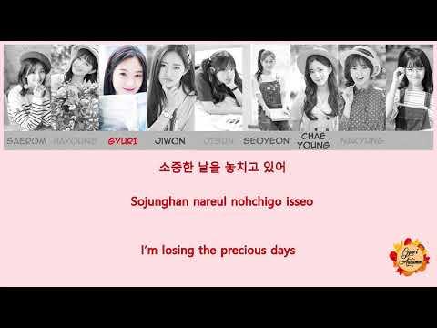 [Lyrics] 프로미스나인 (fromis_9) - Clover (OT9)