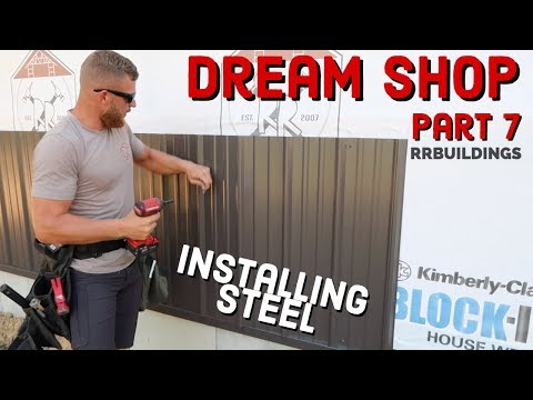 Building the Dream: Episode 7, installing steel