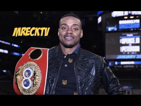 Errol Spence Jr Destroys Amir Khan Fighting Style, Sparring With Lamont Peterson
