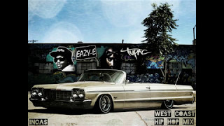 West Coast Hip Hop Mix - 2pac, Eazy-E,Nate Dogg,Snoop Dogg,DR.DRE,Ice Cube,DJ Quick,by INCAS