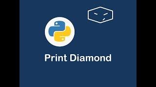 print diamond in python