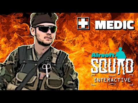 Medic - Airsoft Squad Interactive