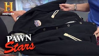 "Pawn Stars: William ""Willie"" Joe Carter 1940 Pro All Star Jacket 