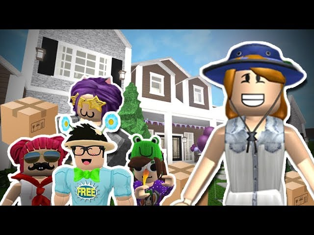 Roblox Studio Get Your Kids Crazy About Something Other Bloxburg Mother Of 4 Kids We Moved Out Again Roblox Roleplay Youtube