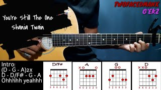 You're Still The One - Shania Twain (Guitar Cover With Lyrics & Chords)