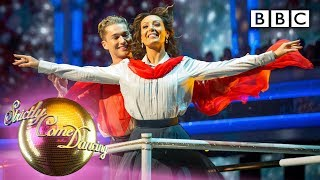 Strictly's stellar cast perform blockbuster group routine - Movie Week   BBC Strictly 2019