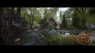 Skyrim 4K | ULTRA MODDED GRAPHICS SHOWCASE + GAMEPLAY | GTX 1080 OC