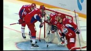 Виталий Колесник стал лучшим вратарем в КХЛ по итогам первой недели чемпионата