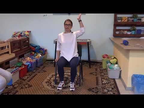 Ćwiczenia na krzesłach