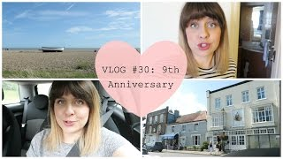 VLOG #30: Our 9th Anniversary in Norwich! | fayesfix