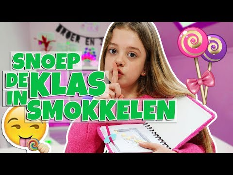 DIY: HOE SMOKKEL JE SNOEP DE KLAS IN!! 🍭  - Broer en Zus TV VLOG #272