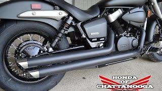 Honda Phantom VT750 Shadow Cobra Streetrod Slashdown Exhaust Sound Clip / Honda of Chattanooga