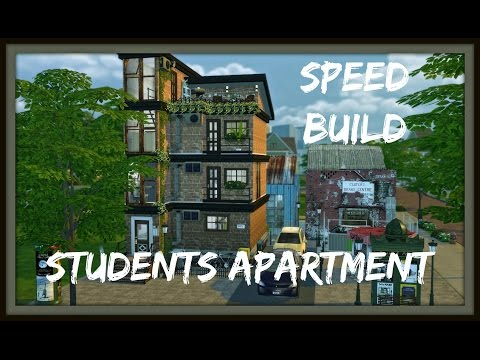 Sims 4 - Speed Build - Apartamento Duplex para Estudantes (Apartment for Students)