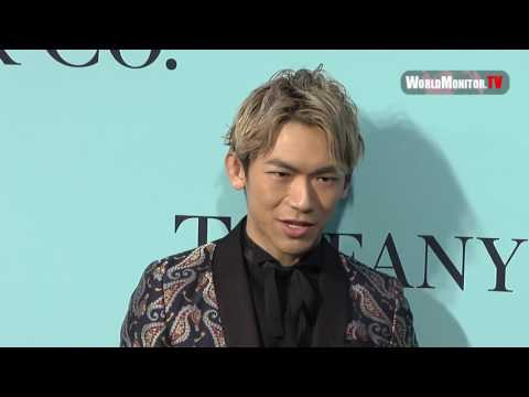 NAOTO 'Sandaime J Soul Brothers from Exile Tribe' at Tiffany & Co. 2017 Blue Book party