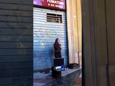 Cantante bravissima a Firenze