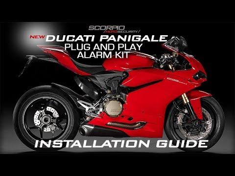 Scorpio Ducati SRX 900 Panigale Installation guide - YouTube