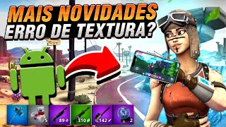FORTNITE FANGAME ANDROID TEXTURE ERROR END AND SHUTTER BUTTON!! 😱