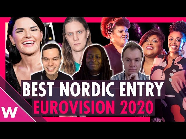 Eurovision 2020: What's the Best Nordic entry?