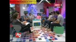 Rodrigo Avalos, Joaquin Hardoy, Bautista Guemes y Matias Moroni en Pura Quimica (28-10-2013)