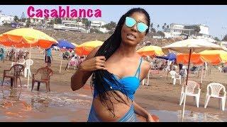 Aller à la plage au Maroc 💦