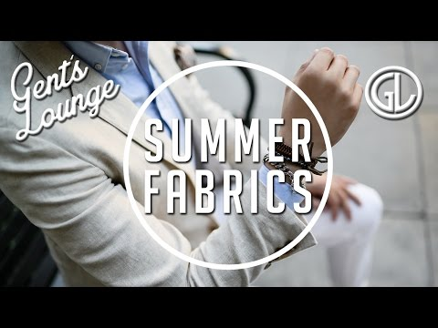 Top 4 Fabrics for Summer Blazers || Gent's Lounge