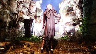 Костюм Dark Knight  из игры Black Desert для Skyrim (v 1.0) Часть 1.
