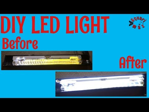 DIY LED Aquarium Light-Problem Solved!