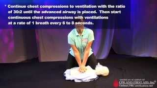 CPR Training Video - How to Do CPR for Healthcare Providers thumbnail