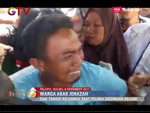 [Viral] Video Warga Mengarak Jenazah Orangtua Tersangka Narkoba di Depan Mapolres Palopo - BIP 07/12
