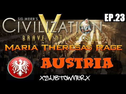Civ 5 - Austria Gameplay [P23] - Liberating The City States