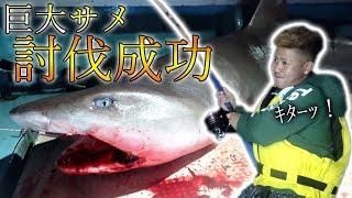 懸賞金のかかったサメを駆除せよ![サメ討伐リベンジin久高島 #1]