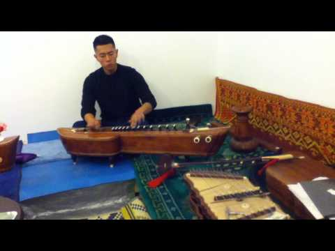 Ya Rath - Authentic Cambodian instrument and music. Instrument Name: Thakay