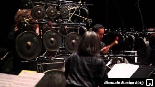 Biennale Musica 2013 - Les Percussions de Strasbourg