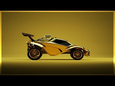 HOW To Make The GOLDEN Octane On Rocket League