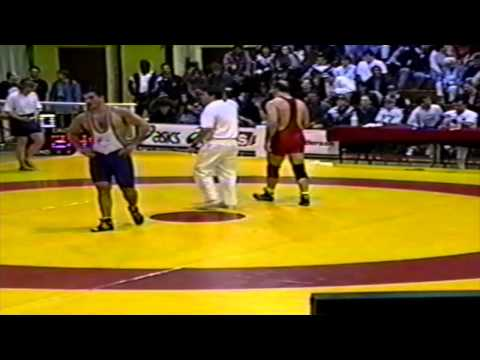 1994 Senior National Championships: 100 kg Final Greg Edgelow vs. Oleg Ladik