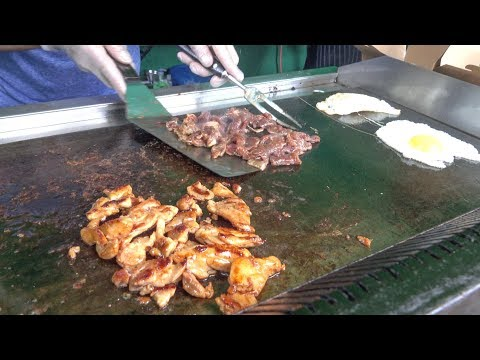 Philippines Style Grill. Meat On The Road. London Street Food