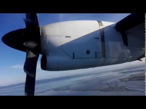 Air New Zealand ATR 72-600 FULL FLIGHT VIDEO Auckland to Napier