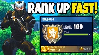 Comment TIER UP/LEVEL UP Fast In Fortnite! No V-BUCKS NEEDEDBattle Royale!