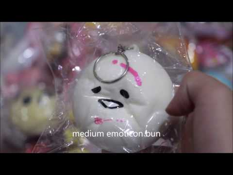 Squishy Collection 2016 : 2016 SQUISHY COLLECTION (2/4) // UNPRF SQUISHY - YouTube