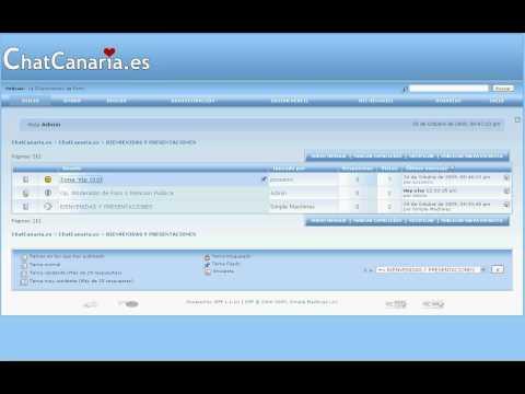 Nueva Web Chat Canaria Una Web Para Los Canarios Conocer Gente Etc...