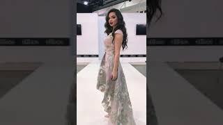 G 2191 Платье вечернее из перламутрового жаккарда video