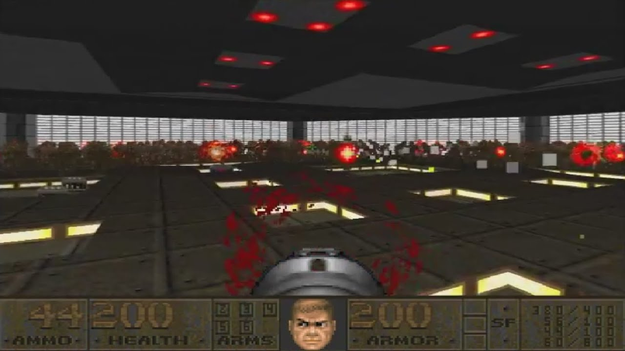 Doom 2 The Center UV Max in 1:21:52 (Inverted Cinnamon Roll Massacre) by  Timothy Brown