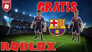 NEW RTHRO FREE! FC BARCELONA ROBLOX ? 17_SANTI