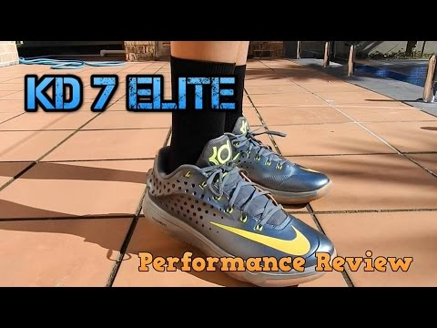 KD 7 Elite Performance Review   On Foot Test - YouTube 069f03ffc