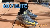 huge selection of e9789 9ba59 SneakerWatch Performance Review  Nike KD 7 Elite  Elevate  - YouTube