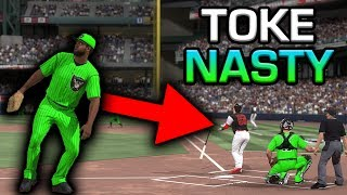 WE MATCHED UP AGAINST TOKE NASTY?! MLB The Show 17 | Battle Royale