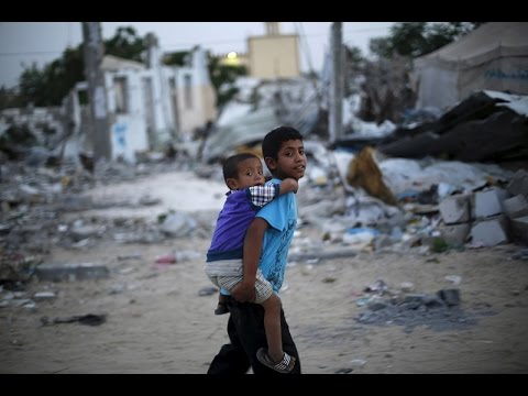 'Looks like war was yesterday': Gaza still in ruins 1 year after Israeli 'Protective Edge' op