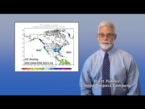 Winter Climate Forecast: North and South America