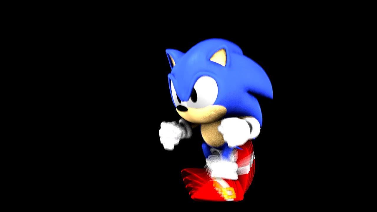 Sonic Sfm Animation Classic Sonic Running Animation Test V2 Youtube